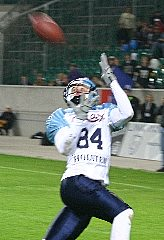 MPV Mario Gregersen tied the game with his catch. (c) AFVD